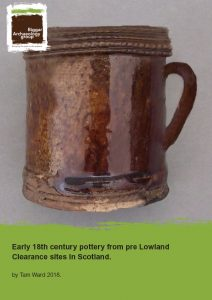 18th Century pottery report