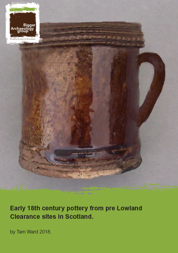 18th Century pottery report cover