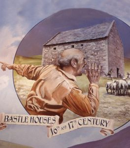 David Fisher's painting for Bastle Houses