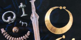 Gold, Silver and Bronze objects found in South Lanarkshire