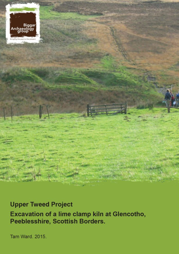Report on Lime clamp kiln at Glencotho